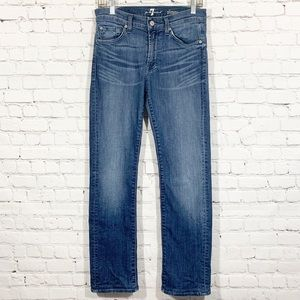 7 for all Mankind Jeans 30 Slimmy Short Petite